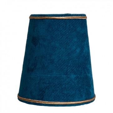 Tienidlo Mini Barozzi blue velvet/ gold lining