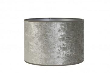 Tienidlo cylindrické 30-30-21 cm CHELSEA velours silver