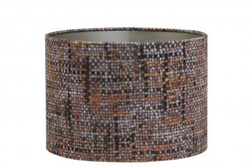 Tienidlo cylindrické 40-40-30 cm PERU orange-brown on taupe