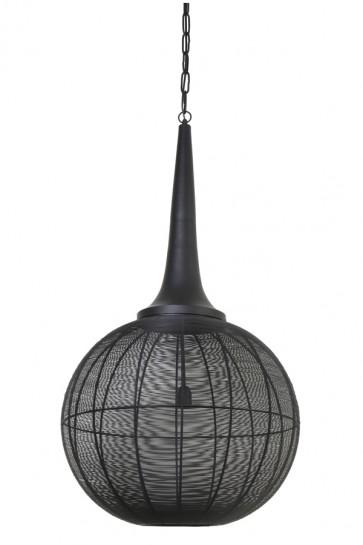 Visiace svietidlo Ø57x112 cm ADRIENNE black