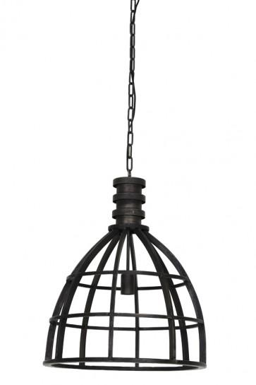 Visiace svietidlo Ø50x62,5 cm IVY metal antique black