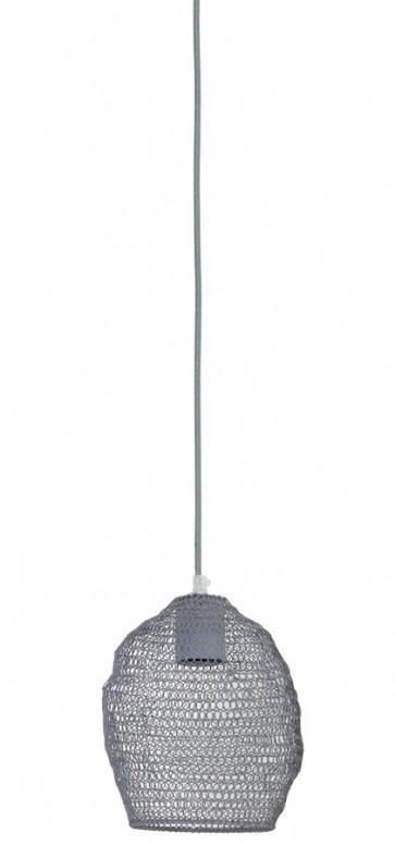 Visiace svietidlo Ø18x20 cm NOLA wire grey
