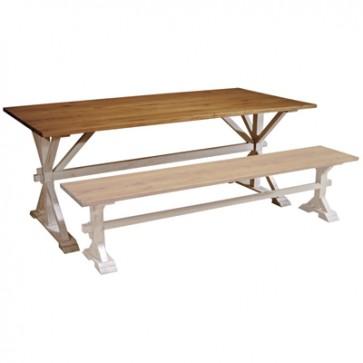 Jedálenský stôl Farmhouse  70x70x78