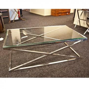 Konferenčný stolík sklenený  200x100x40cm