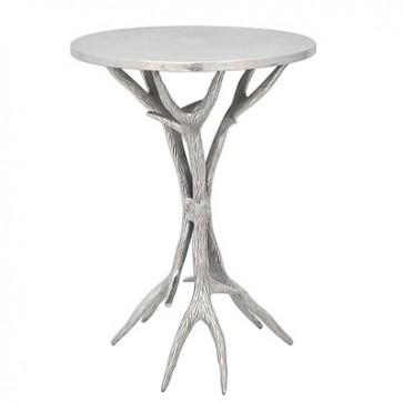 Malý okrúhly stolík 35x35x54cm