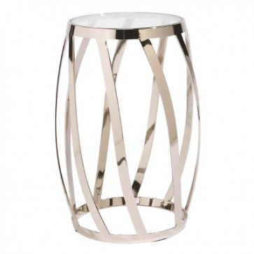 Malý stolík zlatý 30x38x56cm