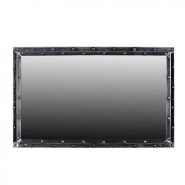 Zrkadlo v železnom ráme  122x76x6cm
