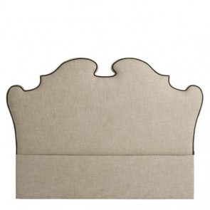 Čelo postele Boudoir Coco off-white - U