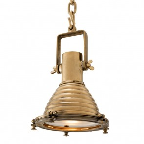 Svietidlo La Marina antique brass finish