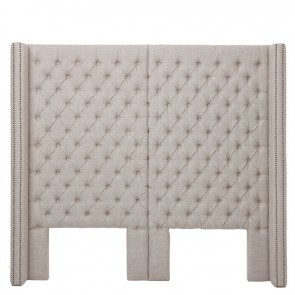 Čelo postele Fullerton linen oxford natural
