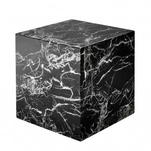 Kocka Link black faux marble