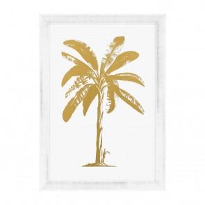 Obraz EC256 Gold Foil: Tropical Palm