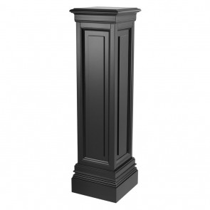 Stĺp Salvatore waxed black finish 120 cm