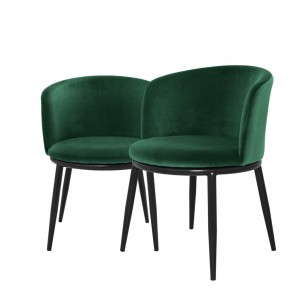 Jedálenská stolička Filmore cameron green set of 2