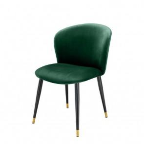 Jedálenská stolička Volante roche dark green velvet