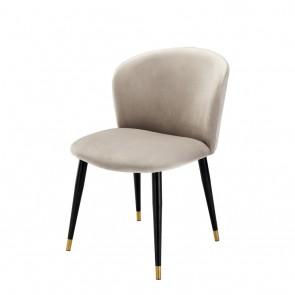 Jedálenská stolička Volante roche beige velvet