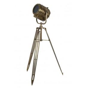 Stojace svietidlo 61x59x162 cm WILSON raw antique bronze