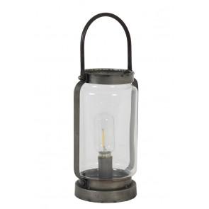 Stolné svietidlo Ř15x37,5 cm KALOU dark grey