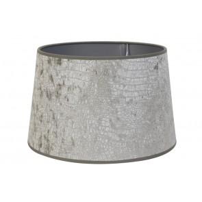 Tienidlo okrúhle 25-19-16 cm CHELSEA velours silver