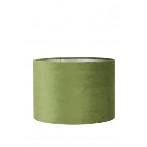 Tienidlo cylindrické 30-30-21 cm VELOURS olive green