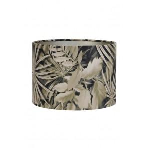 Tienidlo cylindrické 30-30-21 cm VELOURS palm sepia