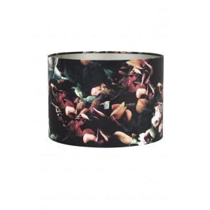 Tienidlo cylindrické 35-35-30 cm VELOURS hydrangea black