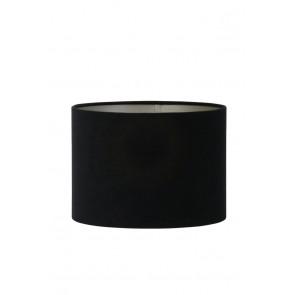Tienidlo cylindrické 35-35-25 cm VELOURS black-taupe