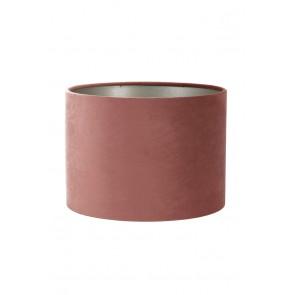 Tienidlo cylindrické 40-40-30 cm VELOURS dusky pink