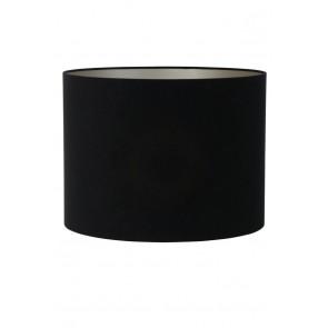 Tienidlo cylindrické 40-40-30 cm VELOURS black-taupe