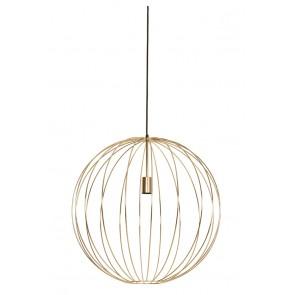 Visiace svietidlo Ø60x60 cm SUDEN shiny gold