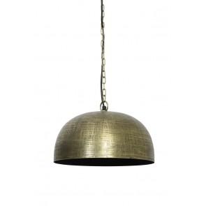 Visiace svietidlo Ø36x17 cm PAULIZE antique bronze-black