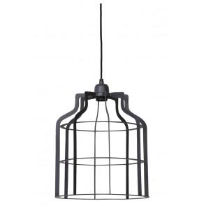 Visiace svietidlo Ø30x38 cm ADINE wire industrial grey