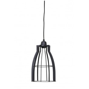 Visiace svietidlo Ø20x35 cm AMIRA wire industrial grey