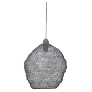 Visiace svietidlo Ø38x42 cm NINA wire grey