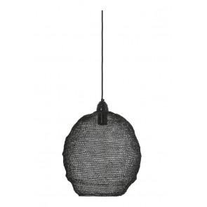 Visiace svietidlo Ø38x42 cm NINA wire shiny black