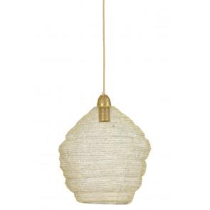 Visiace svietidlo Ø38x42 cm NINA wire light gold
