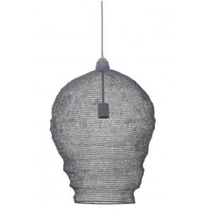 Visiace svietidlo Ř45x60 cm NIKKI wire grey