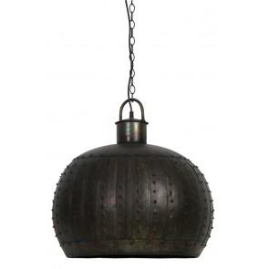 Visiace svietidlo Ř53x51 cm LAURAINE black zinc