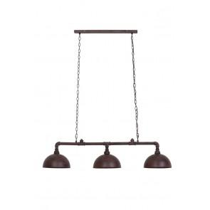 Visiace svietidlo 3L 115x30 cm FALERITE antique brown
