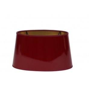Tienidlo oválne 25-21-14 cm LAK red-gold