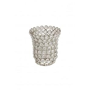 Tienidlo 12x14 cm kelkvorm glaskristal