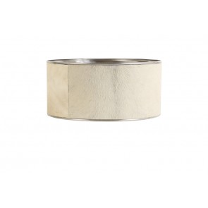 Tienidlo cylindrické ?40xH19 cm cowskin grey