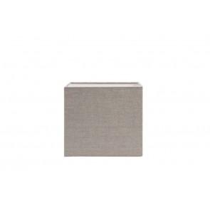 Tienidlo štvorcové nízke 20-20-18 cm LINNEN dark