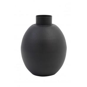 Váza dekoračná Ø12x16 cm BINCO matt black