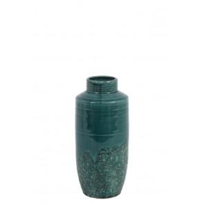 Váza dekoračná Ř13x29 cm SIERRA ceramics dark green