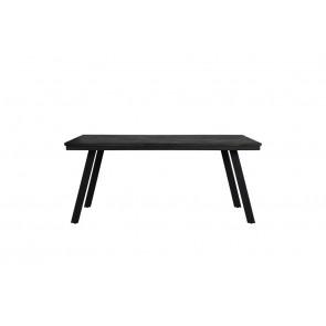Jedálenský stôl 180x90x78 cm CEIRA matt black