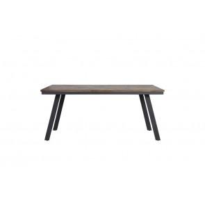 Jedálenský stôl 180x90x78 cm CEIRA grey-wood old grey