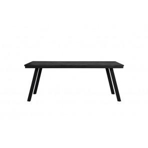Jedálenský stôl 200x90x78 cm CEIRA matt black
