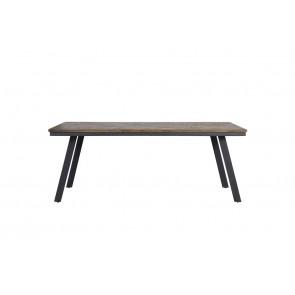 Jedálenský stôl 200x90x78 cm CEIRA grey-wood old grey