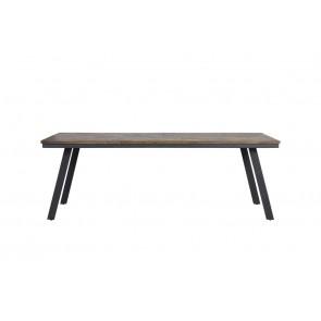 Jedálenský stôl 220x100x78 cm CEIRA grey-wood old grey